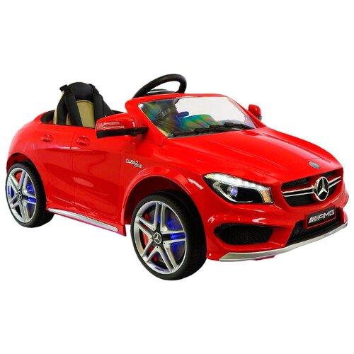 Купить RiverToys Автомобиль Mercedes-Benz CLA45 A777AA, красный, Электромобили