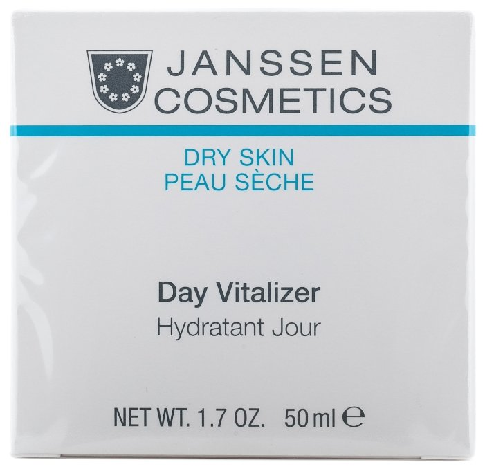 Janssen DRY SKIN Day Vitalizer Увлажняющий дневной крем