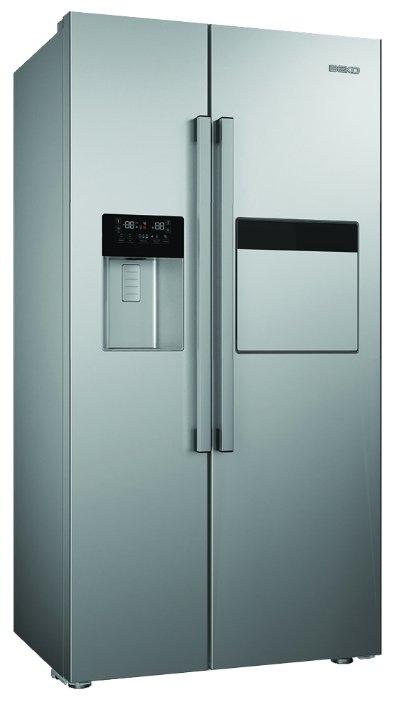 Холодильник Side by Side Beko GN162420X серебристый