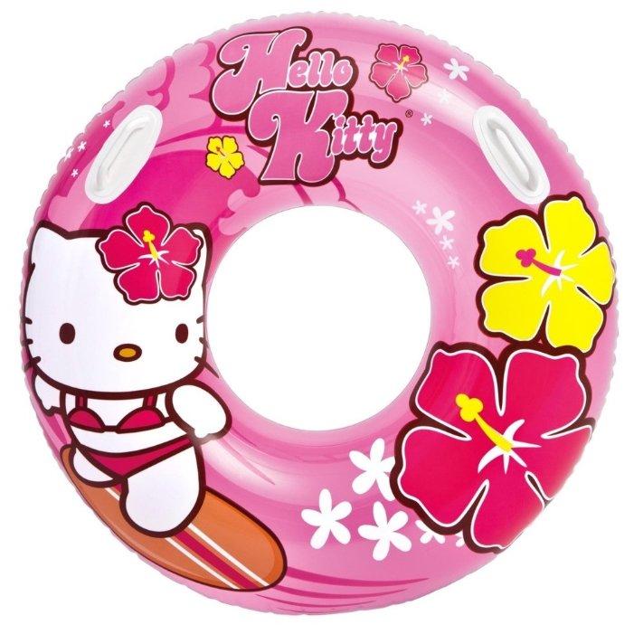 Надувной круг Intex Hello Kitty Sanrio 58269