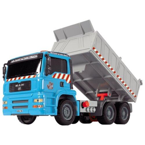 Грузовик Dickie Toys Air Pump (3805001) 1:24 28 см голубой/серый
