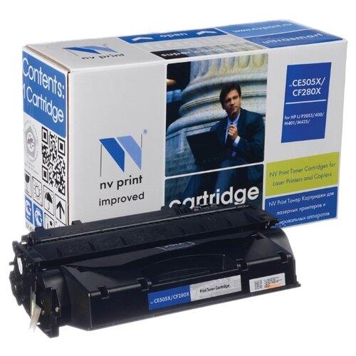 Фото - Картридж NV Print CF280X/CE505X для HP, совместимый картридж nv print cf280x ce505x для hp совместимый