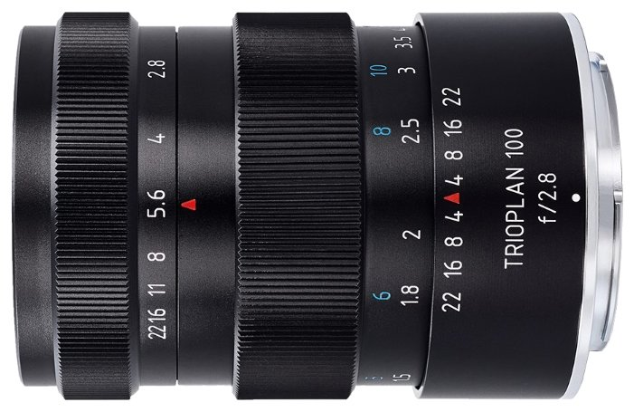 Объектив Meyer-Optik-Görlitz Trioplan 100mm f/2.8 Nikon F