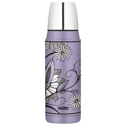 Классический термос Thermos Heritage Purple Flower (0,48 л) фиолетовыйТермосы и термокружки<br>