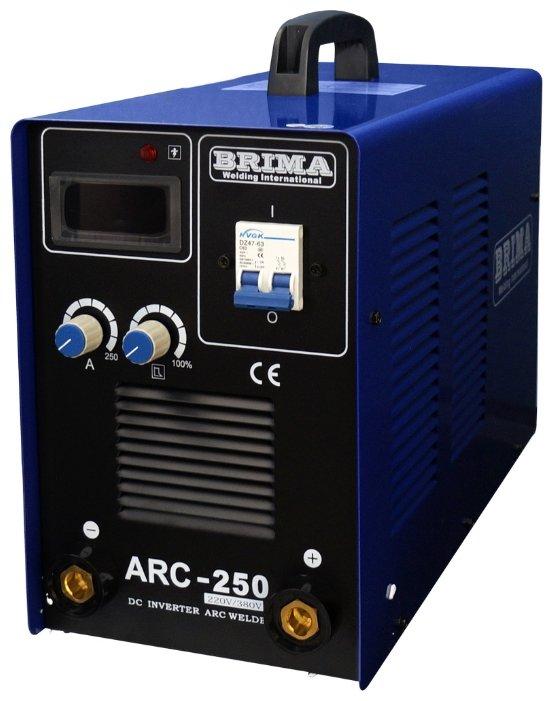 Сварочный аппарат BRIMA ARC-250 (220/380В)