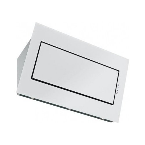 Фото - Каминная вытяжка FALMEC Quasar vetro Parete 90 white (800) кухонная вытяжка falmec mirabilia isola 67 alphabet vetro 800 ecp