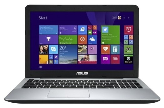 "Ноутбук ASUS K555LN Core i7 4510U 2000 MHz/15.6""/1920x1080/8.0Gb/2000Gb/DVD-RW/NVIDIA GeForce 840M/Wi-Fi/Bluetooth/Win 8 64 (90NB064A-M06450)"