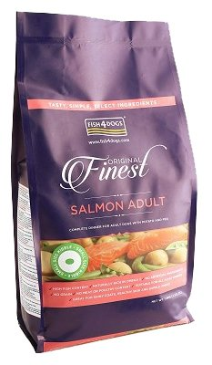 Корм для собак Fish4Dogs Finest Salmon Adult - Small Bite
