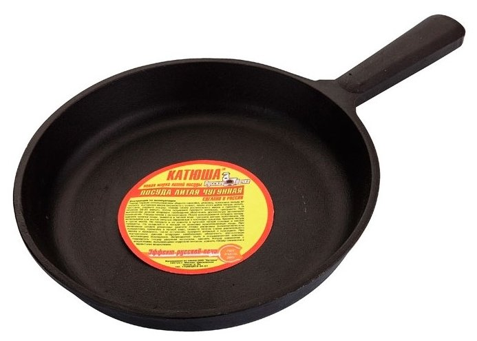 Сковорода КАТЮША ч7024н 24 см