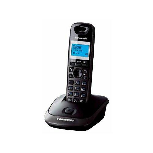 Радиотелефон Panasonic KX-TG2511 темно-серый металлик радиотелефон