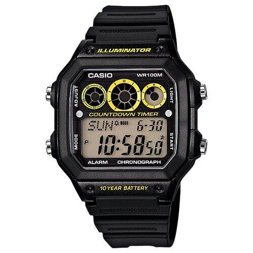 Наручные часы CASIO AE-1300WH-1A1 часы casio ae 1300wh 4a