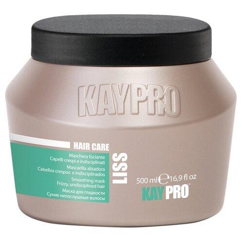 KayPro Liss Маска для разглаживания вьющихся волос, 500 мл kaypro шампунь liss для разглаживания вьющихся волос 350 мл