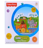 Пазл Fisher-Price Little People Поезд, в ассортименте (FP 30610) , элементов: 30 шт.