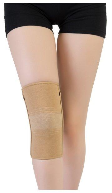 Бандаж на коленный сустав усиленный b.well w-332 размер S бежевый