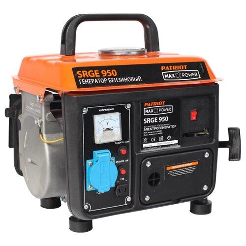цена на Бензиновый генератор PATRIOT Max Power SRGE 950 (474 10 3119) (650 Вт)
