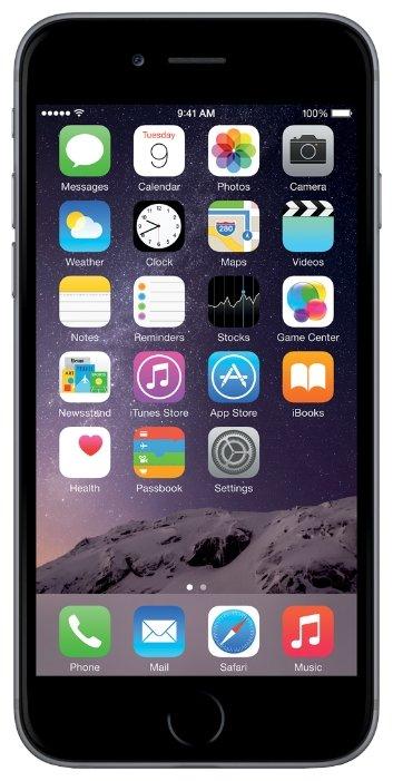 Apple iPhone 6 Plus 16GB (серебристый)