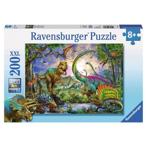 Купить Пазл Ravensburger Мир динозавров (12718), 200 дет., Пазлы