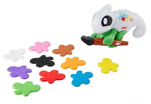 Интерактивная развивающая игрушка Fisher-Price Думай и учись. Обучающий хамелеон (FCH23)
