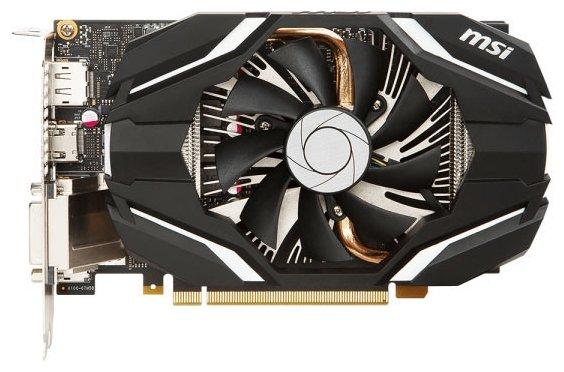 MSI Radeon RX 460 1210Mhz PCI-E 3.0 4096Mb 7000Mhz 128 bit DVI HDMI HDCP