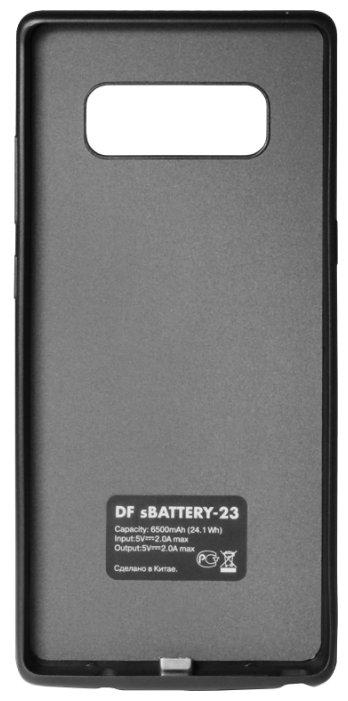 Чехол-аккумулятор DF sBattery-23 для Samsung Galaxy Note 8