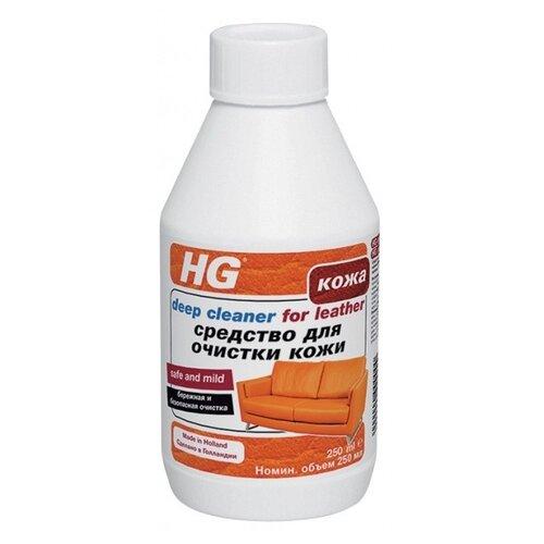 HG Средство для очистки кожи 0.25 л 0.31 кгДля мебели, ковров и напольных покрытий<br>