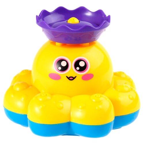 Купить Игрушка для ванной BRADEX Фонтан-осьминожка жёлтый, Игрушки для ванной