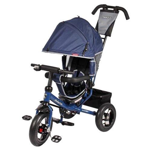 Купить Трехколесный велосипед Moby Kids Comfort 12x10 AIR синий, Трехколесные велосипеды