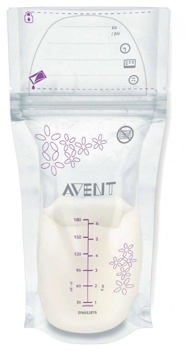 Philips AVENT Пакеты для хранения грудного молока 180 мл (SCF603)