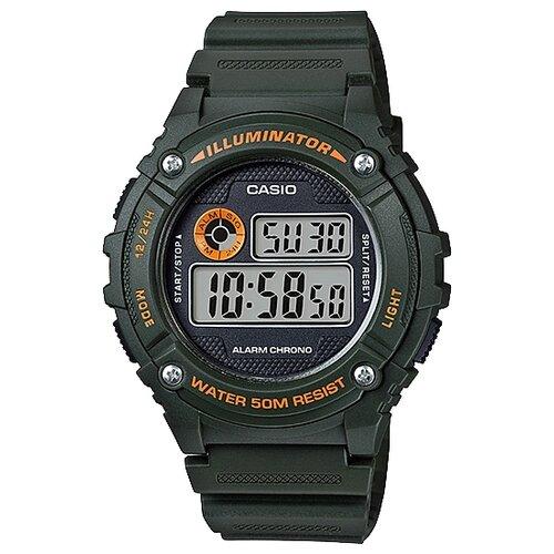 цена Наручные часы CASIO W-216H-3B онлайн в 2017 году