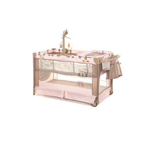 Манеж-кровать Noony Cubby Pink lady манежи noony babyland