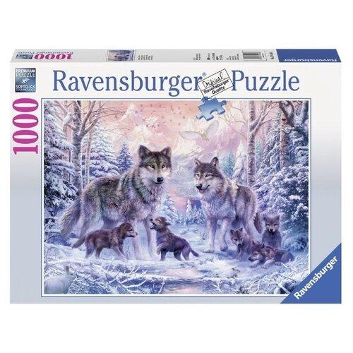 Пазл Ravensburger Северные волки (19146), 1000 дет. ravensburger водная стихия 3х500