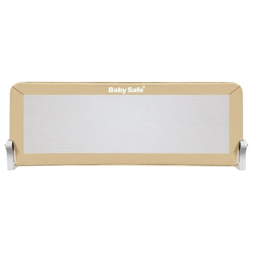 Купить Baby Safe Барьер на кроватку 120х67 см XY-002A.SC бежевый, Ворота безопасности, перегородки
