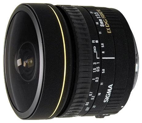 Sigma AF 8mm f/3.5 EX DG Circular Fisheye Canon EF