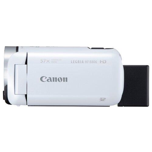 Видеокамера Canon LEGRIA HF R806 белый canon legria hf r88 черный