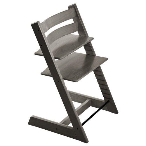 Купить Растущий стульчик Stokke Tripp Trapp из бука, туманный серый, Стульчики для кормления