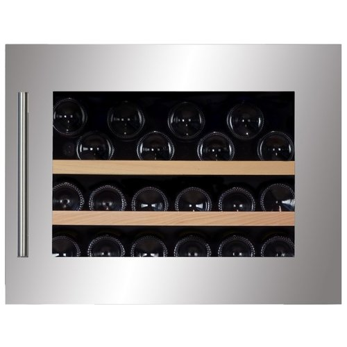 Встраиваемый винный шкаф Dunavox DAB-28.65SS встраиваемый винный шкаф smeg cvi138rws2