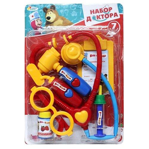 Купить Набор доктора Играем вместе Маша и медведь (1094PSTA-R), Играем в доктора