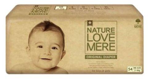 Nature love mere подгузники NS (2-4 кг) 54 шт.