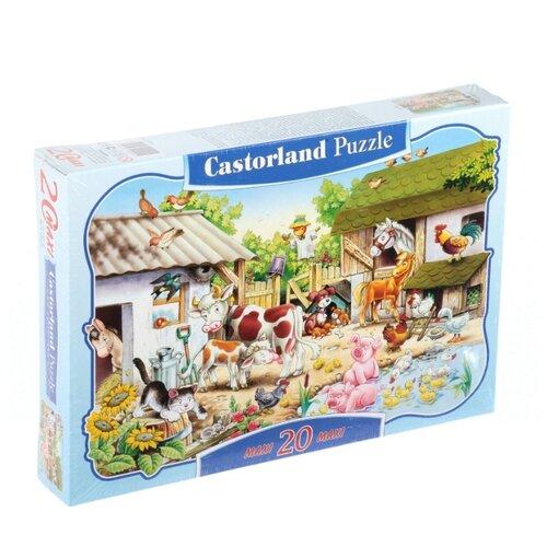 Купить Пазл Castorland Farm (C-02214), 20 дет., Пазлы
