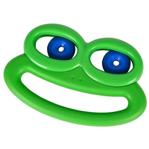 Погремушка Simba ABC Лягушка с подвижными глазами зеленый
