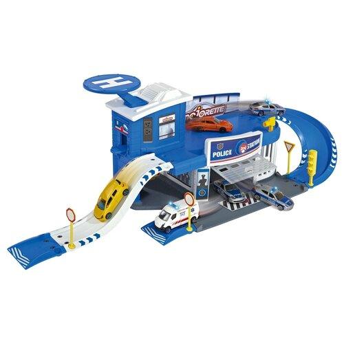 Majorette Игровой набор Creatix Полицейская станция 2050012