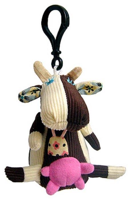 Игрушка-брелок Deglingos Коровка Milkos 9,5 см