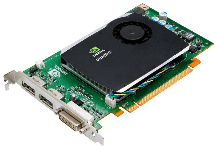 PNY Quadro FX 580 450Mhz PCI-E 2.0 512Mb 1600Mhz 128 bit DVI