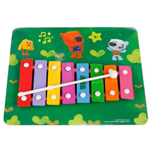 Купить Играем вместе металлофон Ми-ми-мишки B1634469-R5 красный/розовый/голубой/желтый/зеленый/оранжевый, Детские музыкальные инструменты