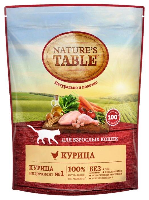 Nature's Table (0.65 кг) Сухой корм для взрослых кошек — Курица