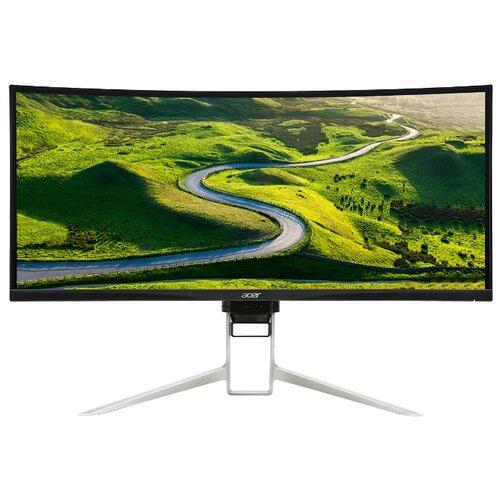 Монитор Acer XR382CQKbmijqphuzx 37.5 черный/серебристый acer sa230 23 черный