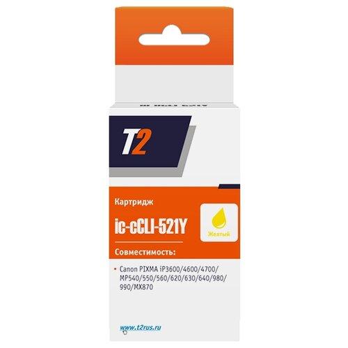 Фото - Картридж T2 IC-CCLI-521Y, совместимый картридж t2 ic ccli 471m xl совместимый