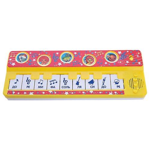 Фото - Умка пианино B1517258-R желтый/красный игрушка для ванной умка бегемотик b1410463 r красный желтый зеленый