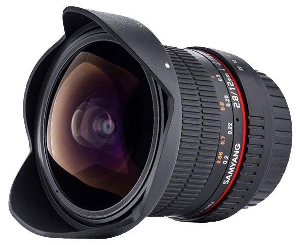 Объектив Samyang 12mm f/2.8 ED AS NCS Fish-Eye Fujifilm X