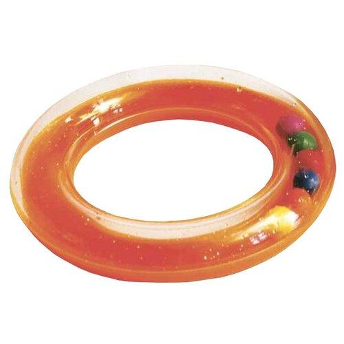 Погремушка Пома Веселое колечко оранжевыйПогремушки и прорезыватели<br>